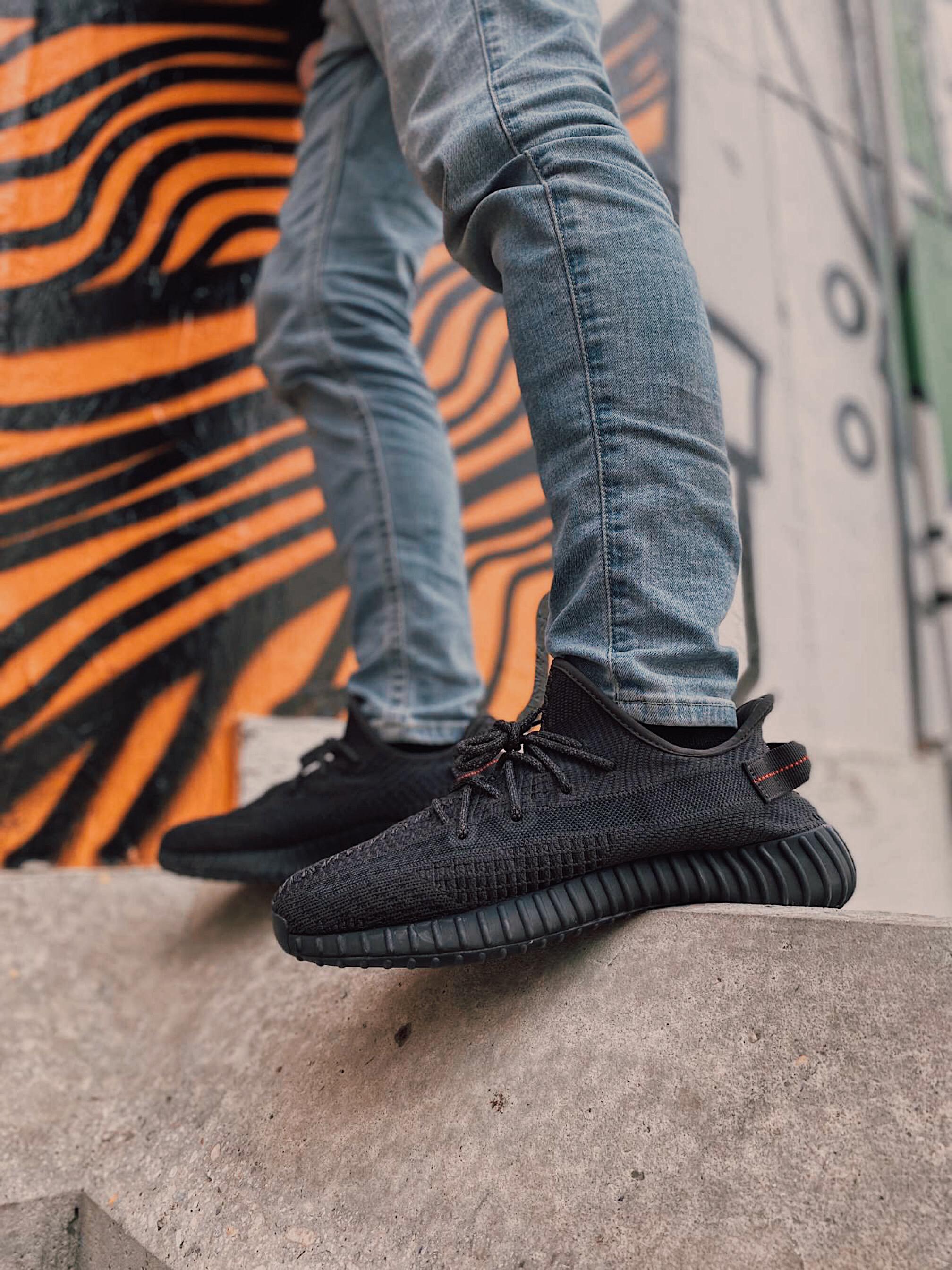 adidas yeezy boost 350 v2 black non reflective